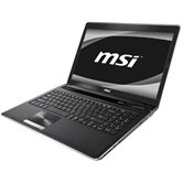"Ноутбук MSI CX640-212RU 15.6"" HD LED GlareHRV/Core i3 2310M/4Gb/3200Gb/NV GT520M 1GB DDR3/DVD±RW/WiFi/6Cell/Web-cam/W7HP 64/Black"