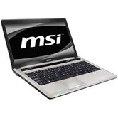 "Ноутбук MSI CX640-204RU 15.6"" HD LED GlareHRV/Core i3 2310M/2Gb/320Gb/NV GT520M 1GB DDR3/DVD±RW/WiFi/6Cell/Web-cam/W7HP/Silver"
