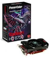 Видеокарта PowerColor PCI-E (AX6750 1GBD5-H) Radeon HD6750 1GB DDR5 (128bit) DVI/ HDMI/ Retail