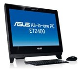 "Моноблок Asus All-in-One ET2400XVT 23.6""FHD 3D MultiTouch/i7-740QM/6Gb/1Tb/NV GTX460M 1.5G/DVD-SMulti/WiFi/HDMI/TV/BluRay/Web cam/W7HP/KB+m/Black"