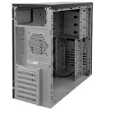 Корпус INWIN EC030BL (Midi Tower, ATX, 450W RB-S450T70, USB+Audio, черный глянцевый) <6101063>