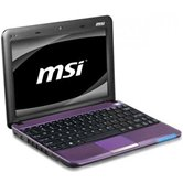 "Нетбук MSI U135DX-2653RU 10"" LED Glare/Atom N570/2Gb/250Gb/GMA 3150 /WiFi/6Cell/Web-cam/W7 Starter/Purple"