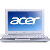 Нетбук Acer Aspire One AOD257-N57DQws (white/siver) <LU.SFW0D.039> 10,1&quot; LED/Intel Atom Dual-Core N570 (1.66Ghz)/1Gb/250Gb/WiFi/WebCam 0,3/5-in-1/6Cell2.2 (8hrs)/1.3kg/Win 7ST+Android