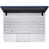 "Нетбук Samsung NC110-A04 10.1"" WSVGA LED/Intel Atom N455 (1.66Ghz)/1Gb/250Gb/WiFi/6Cell/BT/Web-cam/W7S/ Blue"