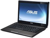 "Ноутбук ASUS K42DY 14"" HD LED/AMD Phenom II P960 (1.8 GHz)/4Gb/500Gb/1Gb ATI Radeon HD6470/DVD±RW SM/WiFi/BT/Cam/W7HP/ Black/Brown"