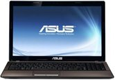 "Ноутбук ASUS K53SJ 15.6"" HD+ LED/Intel Core i3 2310M(2.1GHz)/2Gb/500Gb/1Gb nVidia 520M/DVD±RW SM/WiFi/Cam/DOS"