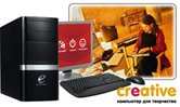 ПК Эксимер® CREATIVE-A 7651/A6-3650/4096Mb/1000Gb/iHD6530D up1536Mb/DVD-RW/CR/Win 7HB