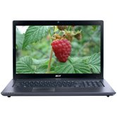 Ноутбук Acer Aspire AS7750G-2434G64Mnkk < LX.RK001.001> 17.3&quot; HD+ LED/Intel Core i5-2430M/4Gb/640Gb/1Gb AMD Radeon HD6850/DVD±RW/WiFi/USB 3.0/BT3.0/WebCam 1.3/HDMI/6 cell/3.3kg/802.11 b/g/n/W7HB 64  black