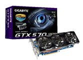 Видеокарта Gigabyte PCI-E (GV-N570UD-13I 1.0) GeForce with CUDA GTX570 1280Mb DDR5 (320bit) Dual DVI/ DVI-D/ mini HDMI/ Retail