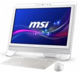 "Моноблок MSI AE2070-023RU white 20""  Multi-touch panel/ Intel Pentium G620 SB/2Gb/500Gb/Intel HD Graphics 2000/DVD±RW/WiFi/Web-cam 0.3M/HDMI/Win 7 Home Premium"