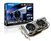 Видеокарта MSI PCI-E N560GTX-Ti Twin Frozr II 2GD5/OC GeForce with CUDA GTX560Ti 2Gb DDR5 (256bit) Dual DVI miniHDMI  Retail