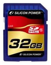 Карта памяти SD Card 32Gb Silicon Power SDHC Class 10 RET