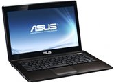 "Ноутбук ASUS K43SJ 14"" HD LED/Intel B940(2GHz)/3Gb/320Gb/1024Mb nVidia 520M/DVD±RW SM/WiFi/Cam/W7HB/ Dark Brown"