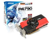 Видеокарта MSI PCI-E R6790-PM2D1GD5/OC Radeon 6790 1Gb DDR5 (256bit) Dual DVI Dual DP HDMI  Retail