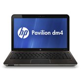 Ноутбук HP Pavilion dm4-2100er (Metal dark umber) <QJ414EA> 14&quot; /Core i3-2300M/4Gb/320Gb/UMA/WiFi/BT/WebCam/W7 HP
