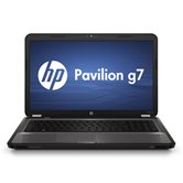 Ноутбук HP Pavilion g7-1201er (charcoal grey) <QH929EA> 17.3&quot; /Sabine A6-3400M/4Gb/500Gb/HD6470 1Gb DDR3/WiFi/BT/WebCam/W7 HB