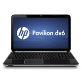 Ноутбук HP Pavilion dv6-6b00er (IMR Black) <QH603EA> 15.6&quot; /Sabine A4-3310MX/4Gb/320Gb/HD6490 512MB/WiFi/BT/WebCam/W7 HB