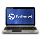 Ноутбук HP Pavilion dv6-6b53er (Metal steel gray) <QG812EA> 15.6&quot; /Core i5-2430M/4Gb/500Gb/HD6770 2Gb DDR5/WiFi/BT/WebCam//W7 HB