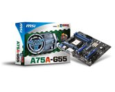 Материнская плата Socket-FM1 MSI A75A-G55 (AMD A75) ATX  Retail