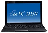 "Нетбук ASUS EEE PC 1215N 12.1"" WXGA LED/Intel Atom D525 (1.8Ghz)/3Gb/500Gb/GMA X3150/WiFi/6Cell/BT/Cam/W7HP/  Black"