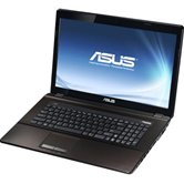 "Ноутбук ASUS K73E 17.3"" HD+ LED/Intel Core i5 2430M(2.4GHz)/4Gb/750Gb/GMA HD 3000(int)/DVD±RW SM/WiFi/BT/Cam/W7HB/ Black/Brown"