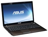 "Ноутбук ASUS K53U 15.6"" HD LED/AMD С-50(1GHz)/2Gb/320Gb/ATI HD6250 (int)/DVD±RW SM/WiFi/Cam/W7S/ Brown"