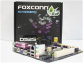 Материнская плата Foxconn D52S (Intel NM10 Express + CPU Atom™ D525, DDR2) Mini-ITX RTL