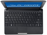 "Нетбук ASUS EEE PC 1001PXD 10.1"" WSVGA LED/Intel Atom N455 (1.66Ghz)/1Gb/250Gb/GMA X3150(int)/WiFi/3Cell/Cam/DOS/ Black"