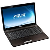 "Ноутбук ASUS K53U 15.6"" HD LED/AMD E-450(1.66GHz)/2Gb/320Gb/AMD Radeon HD6320(int)/DVD±RW SM/WiFi/Cam/DOS/ Brown"
