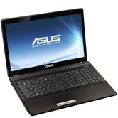 "Ноутбук ASUS K53TA 15.6"" HD LED/AMD A4 3300M(1,9Ghz)/3Gb/320Gb/1Gb ATI Radeon HD6650/DVD±RW SM/WiFi/Cam/W7HB/ Brown"