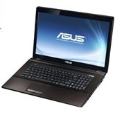"Ноутбук ASUS K73SV 17.3"" HD+ LED/Intel Core i5 2430M(2.4GHz)/4Gb/750Gb/1Gb nVidia 540M/DVD±RW SM/WiFi/BT/Cam/W7HP/Dark Brown"