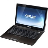 "Ноутбук ASUS K43E 14"" HD LED/Intel Core i3 2330M(2.2GHz)/3Gb/320Gb/Intel HD Graphics 3000(int)/DVD±RW SM/WiFi/BT/Cam/W7HB/Brown"