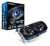 Видеокарта Gigabyte PCI-E (GV-N460OC-1GI 30AU) GeForce with CUDA GTX460 1Gb DDR5 (192bit) Dual DVI/ HDMI/ Retail