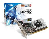 Видеокарта MSI PCI-E R6450-MD1GD3/LP Radeon 6450 1Gb DDR3 (64bit) VGA DVI HDMI OEM