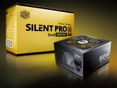 Блок Питания Cooler Master Silent Pro GOLD 800 (RS800-80GAD3-EU) 800 Вт, 120мм вентилятор, активный PFC, 80Plus Gold, cable management, SLI ready