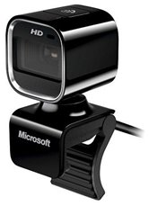Веб-камера Microsoft LifeCam HD-6000 (USB2.0, 1280*720, автофокус, микрофон). <7PD-00004>