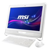"Моноблок MSI AE2050-087RU White 20"" WXGA Multi-touch panel/AMD Brazos Dual Core E450/4Gb/500Gb/AMD Radeon HD6310/DVD±RW DL/WiFi/Web-cam 0.3M/HDMI/Win 7 Home Premium"