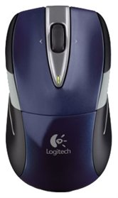 [910-002603] Мышь Logitech Wireless M525, черно-синяя