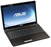 "Ноутбук ASUS K53TK 15.6"" HD LED/AMD A4 3305M(1,9Ghz)/3Gb/320Gb/1Gb ATI Radeon HD7670/DVD±RW SM/WiFi/BT/Cam/W7HB/ Brown"