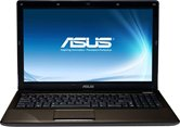 "Ноутбук ASUS K53TK 15.6"" HD LED/AMD A4 3305M(1,9Ghz)/3Gb/500Gb/1Gb ATI Radeon HD7670/DVD±RW SM/WiFi/BT/Cam/W7HB/ Brown"