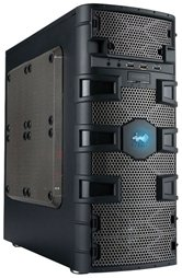 Корпус INWIN BR661 Dragon Slayer (ATX 450W, 2xUSB+Audio+Mic+USB3.0 , micro ATX, черный)