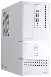 Корпус INWIN BK623W (Tiny Tower, Micro-ATX, 300W , 4x USB+Audio) Белый <6106604>