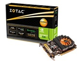 Видеокарта ZOTAC PCI-E GeForce with CUDA GT630 Synergy Edition (810MHz) 4GB DDR3 (128bit) Dual DVI miniHDMI (ZT-60405-10L)  Retail