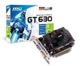 Видеокарта MSI GeForce GT630 4GB DDR3 128bit 810/1000 DVI-I/D-Sub/HDMI (N630GT-MD4GD3) RTL