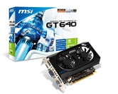 Видеокарта MSI PCI-E N640GT-MD2GD3/OC  GeForce with CUDA GT640 2Gb DDR3 (128bit) DVI VGA HDMI  Retail