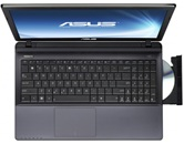 "Ноутбук ASUS K55N 15.6"" HD LED/AMD A10 4600M(2.3GHz)/6Gb/750Gb/2Gb AMD 7660M/DVD±RW SM/WiFi/Cam/W7HB/Black"