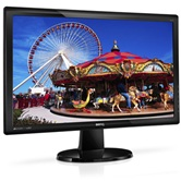 "Монитор TFT 24"" BenQ GL2450HM glossy-black (LED-подсветка, 12M:1, 5ms, DVI, HDMI, audio, Wide screen)"