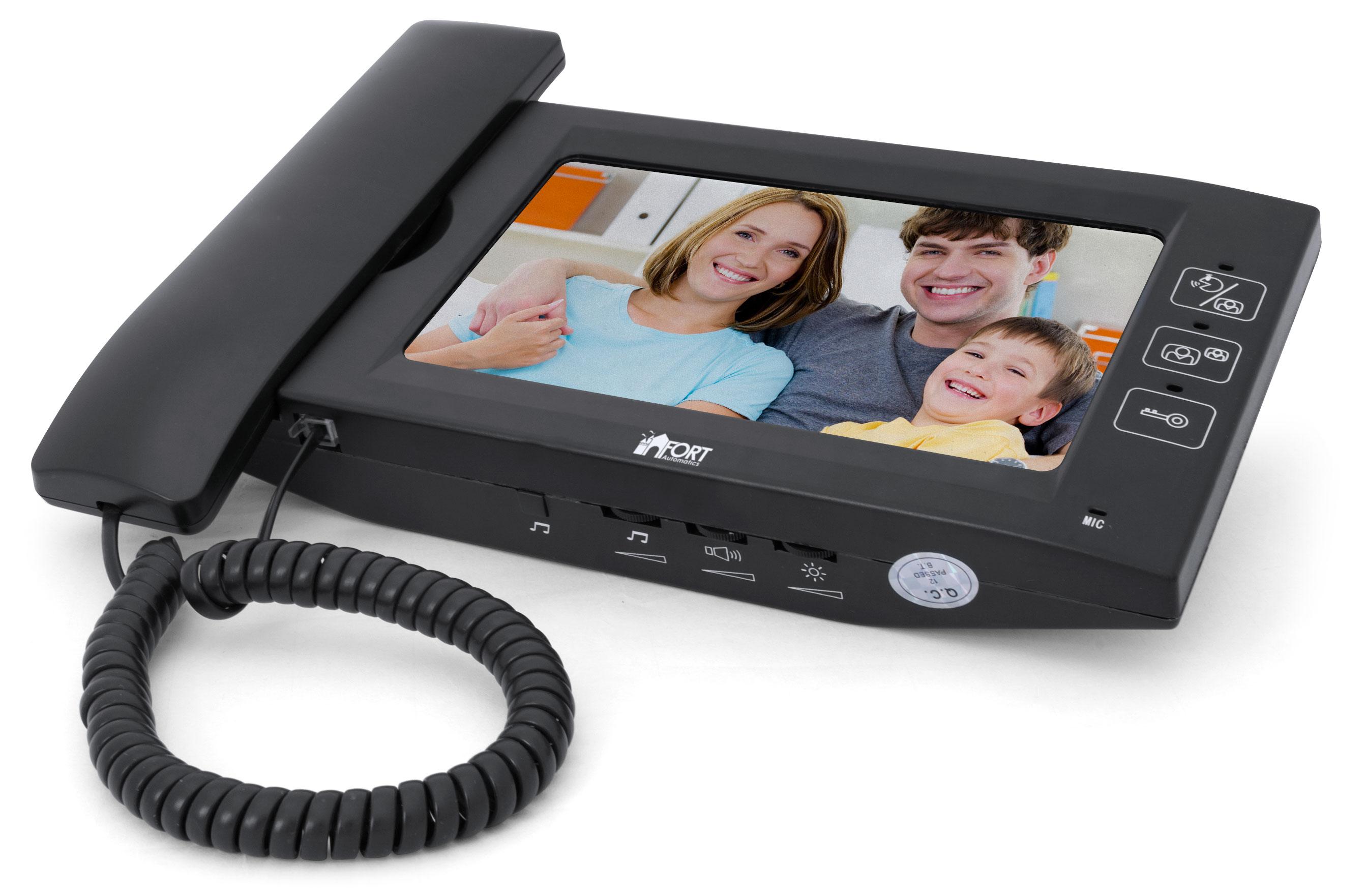 Видеодомофон FORT Automatics C0702HF