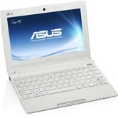 "Нетбук ASUS EEE PC X101CH 10.1"" WSVGA LED/Intel Atom N2600 (1.6Ghz)/1Gb/320Gb/GMA X3600(int)/WiFi/Сam/3 cell/W7S/White/ 1.03kg"