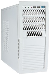 Корпус INWIN BW140W (Midi Tower, ATX, mATX, 500W RB-S500HQ70, 2xUSB2.0+mic+Audio, белый) <6077435>